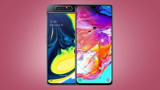 Samsung Galaxy A70 and A80 deals