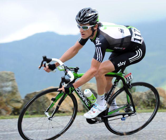 Geraint Thomas, Tour de France 2011, stage 14