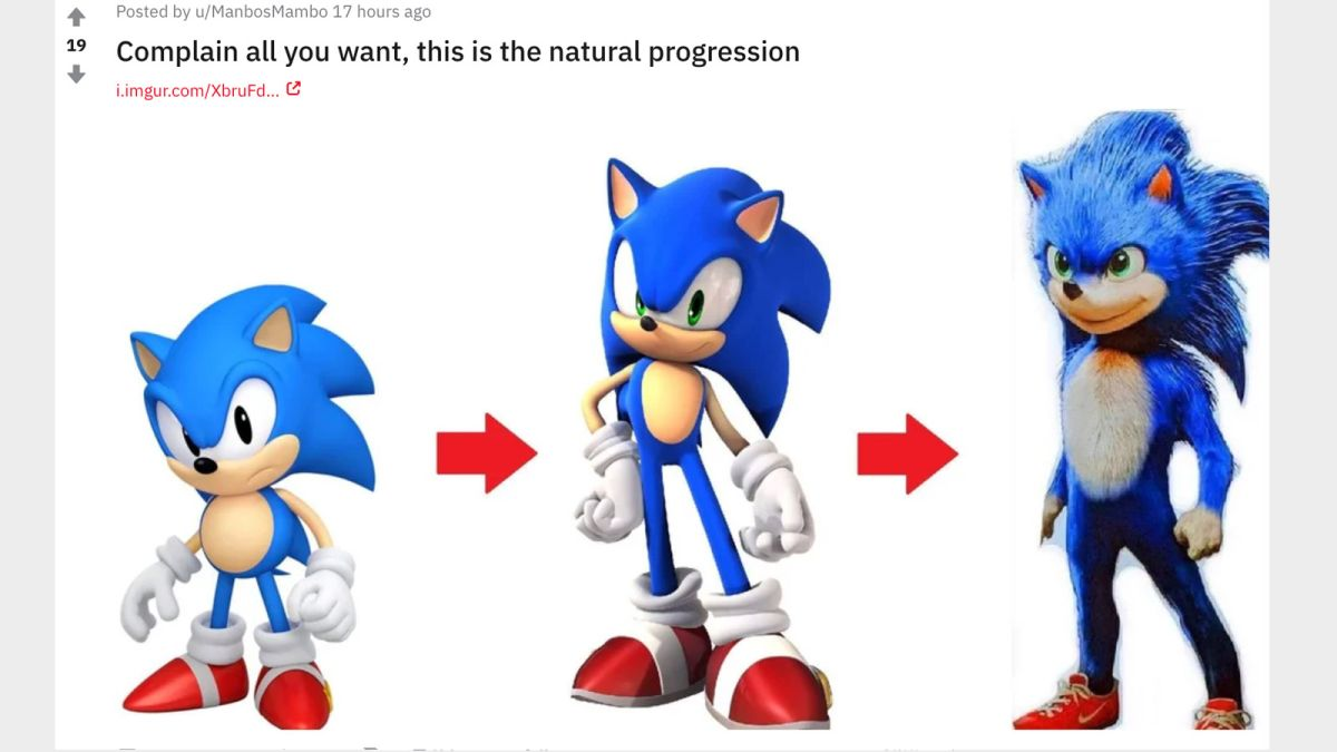 The Backlash To Sonic S Movie Design Is Proof That You Should Never Make The Internet Mad Gamesradar