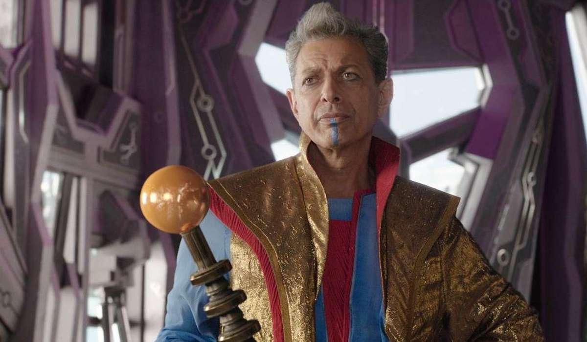 Jeff Goldblum's Grandmaster in Thor: Ragnarok