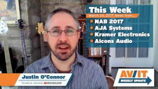 AV/IT Weekly Update with Justin O'Connor: Episode 4