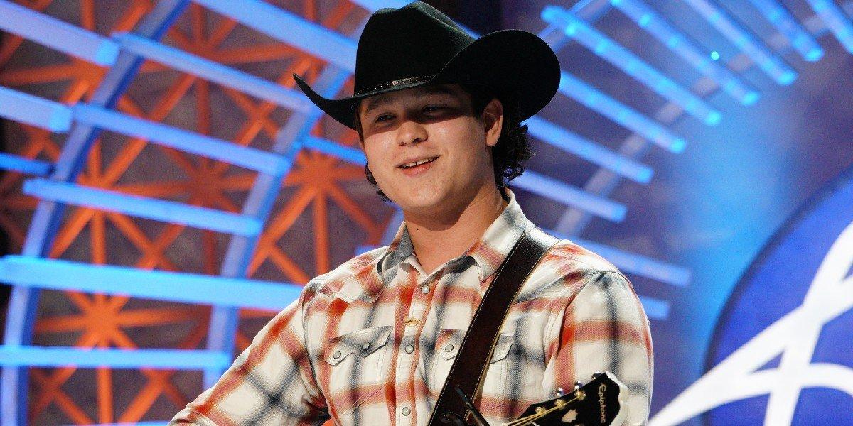 Caleb Kennedy auditioning on American Idol ABC