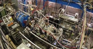A newly reported experiment involving matter and antimatter was carried out in CERN's Antiproton Decelerator.