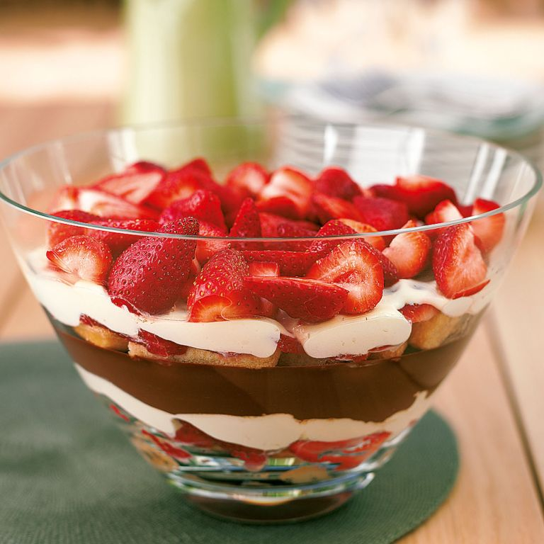 Strawberry and Chocolate Mascarpone Trifle recipe-recipe ideas-new recipes-woman and home