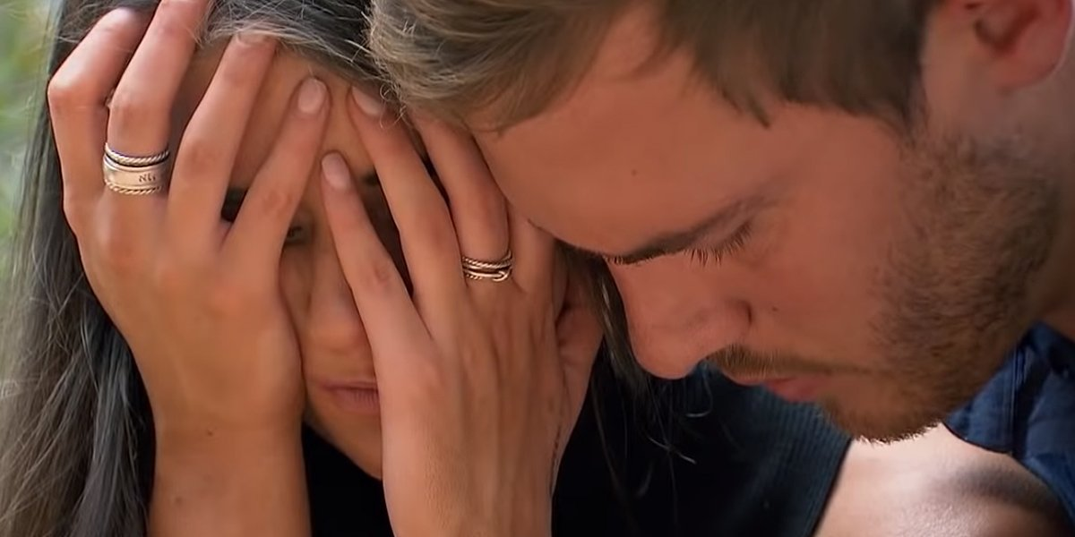 The Bachelor 2020 finale Madison cries with Peter ABC