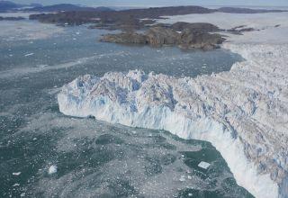 Tributary of Greenland's Upernavik Glacier.