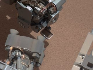 Curiosity Sees Bright Object