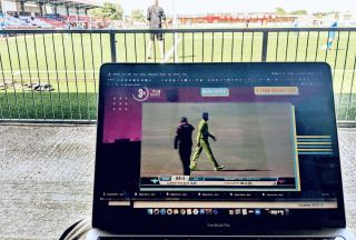 PT SportSuite used three AJA HELO H.264 streamers/recorders to produce a global live stream of the first-ever Three-Team Cricket match at SuperSport Park in Centurion, South Africa.