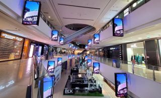 Daktronics Digital Banners Highlight Messaging at Emaar's Marina Mall