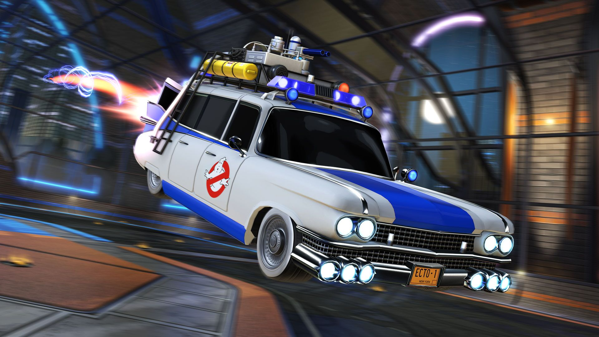 Rocket League returns to the '80s with Ghostbusters and