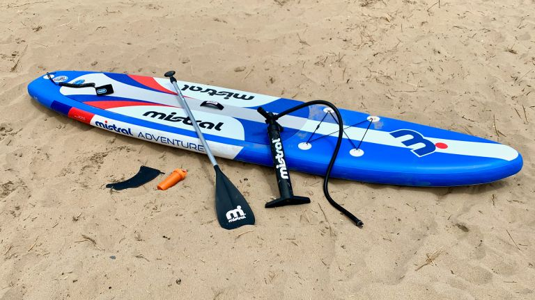 Mistral Adventure stand up paddle board in use