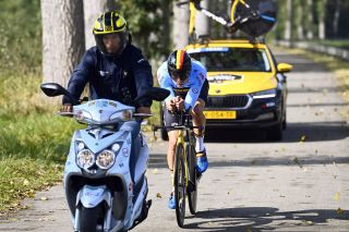 2021 UCI Road World Championships Flanders - Training - Training - 17/09/2021 - Wout Van Aert (Belgium) - photo Gregory Van Gansen/PN/BettiniPhoto©2021