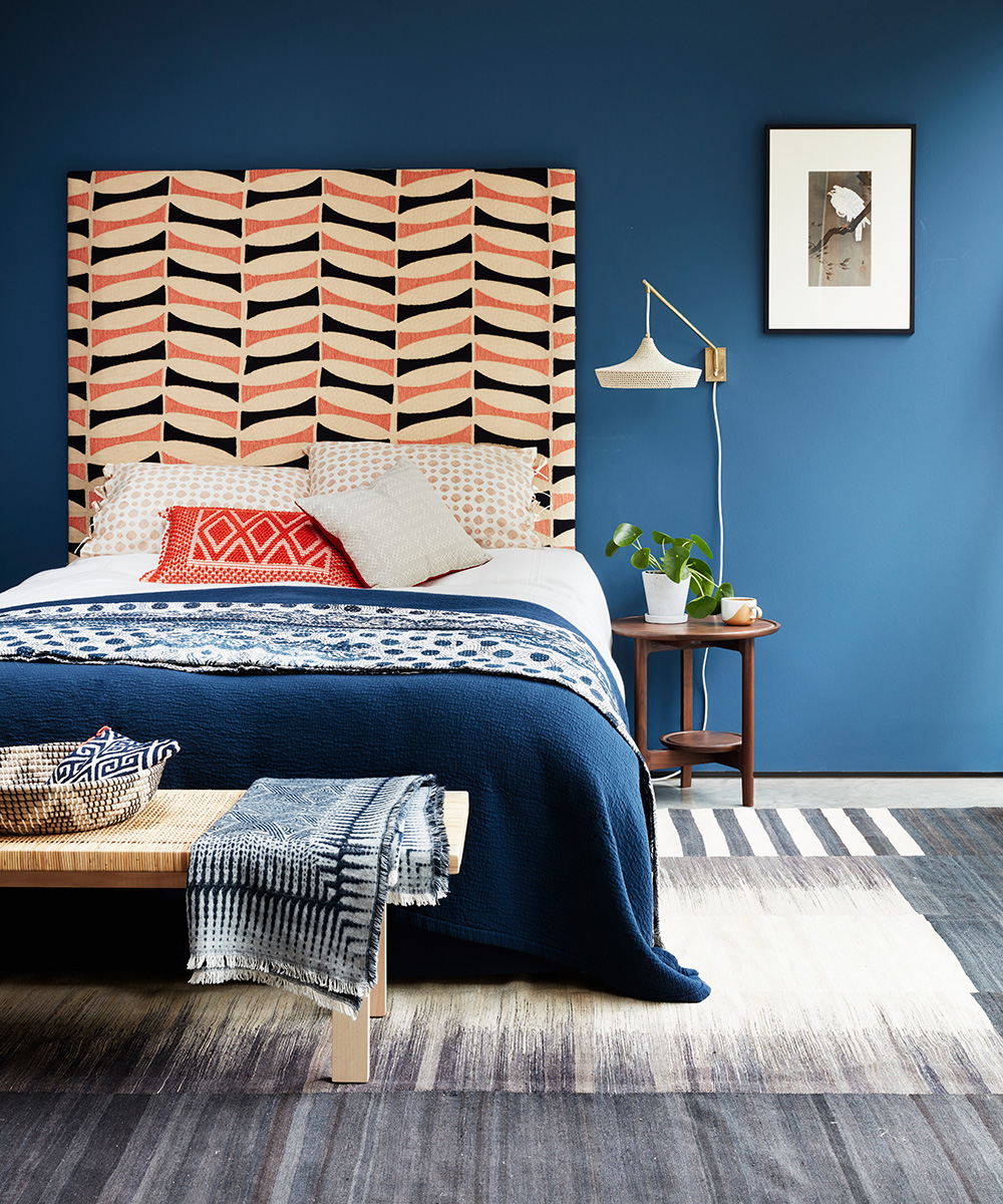 Modern bedroom with bold and distinctive designs | Homes & Gardens
