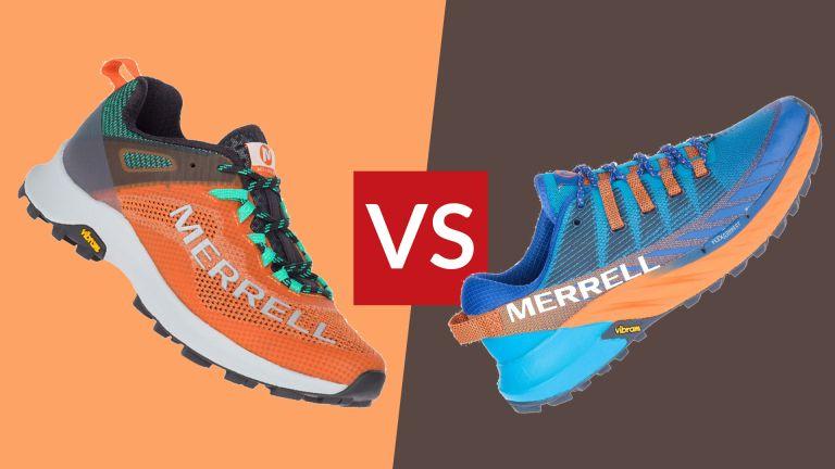 Merrell Agility Peak 4 vs Merrell MTL Long Sky