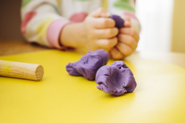 How to make playdough