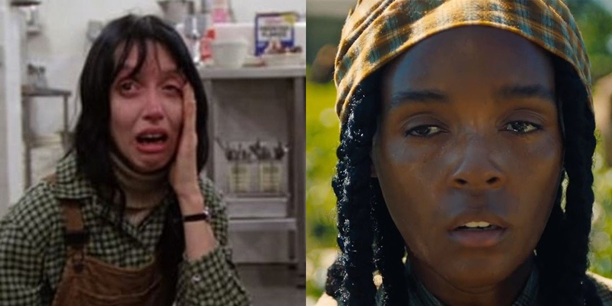 Shelly Duvall on the left, Janelle Monae on the right