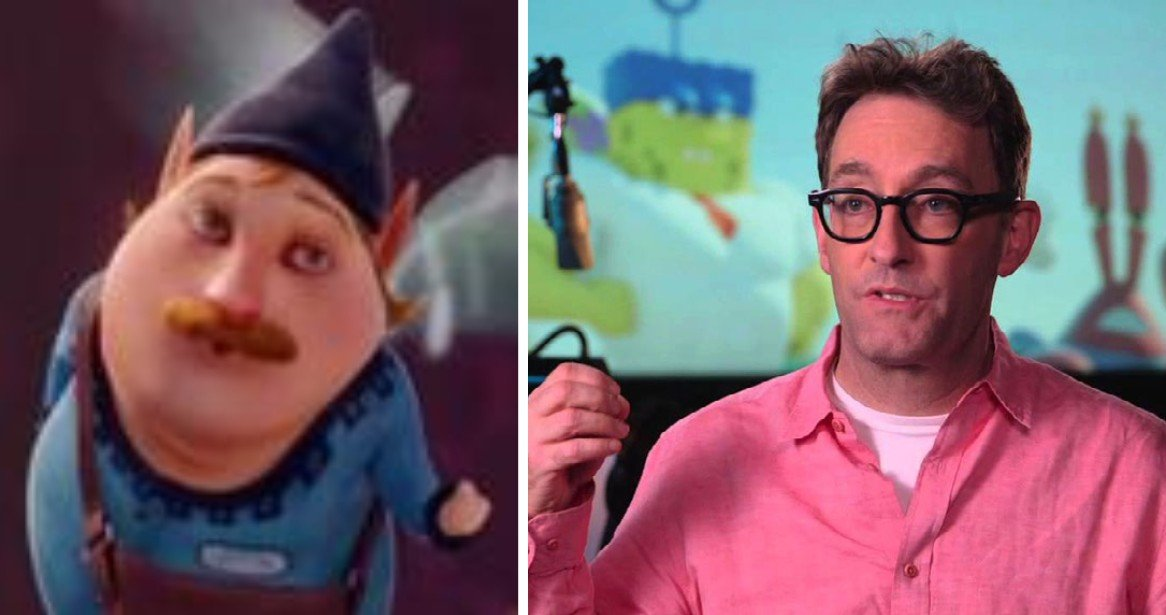 The Blessing Fairy - Charming/Tom Kenny ScreenSlam Interview The SpongeBob Movie: Sponge Out of Water YouTube
