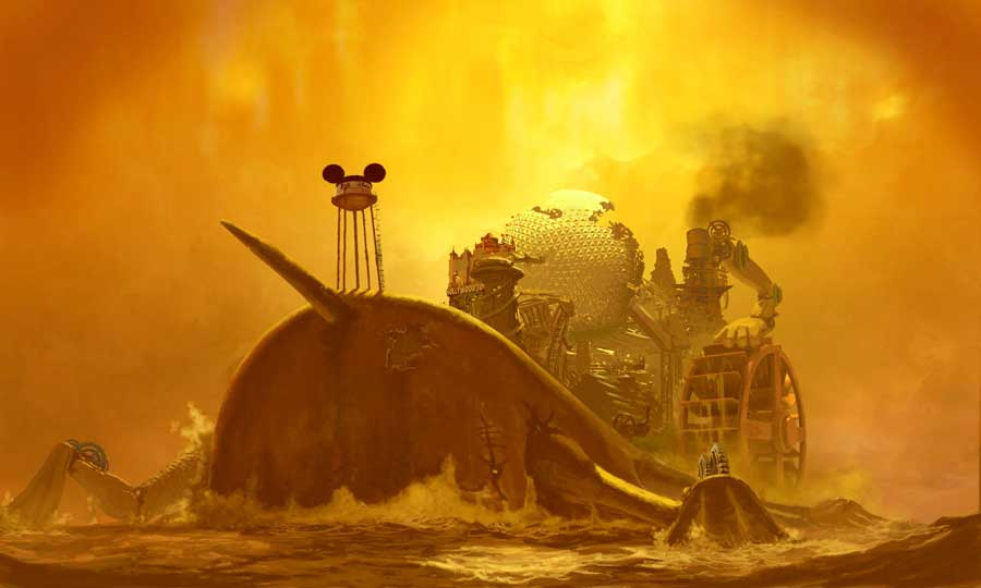Concept Art From Warren Spector's Steampunk Mickey Mouse Revealed #8681