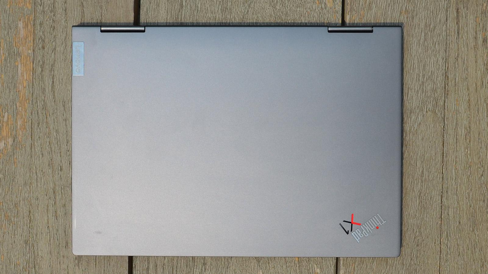 Lenovo ThinkPad X1 Yoga Gen 6 Top Down View Of Lid