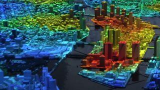 Screenshots of the Urban Lab AR Tokyo project