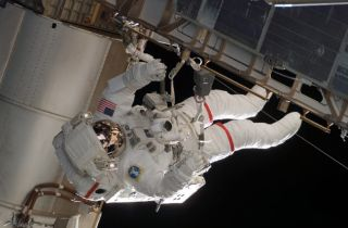 Shuttle Astronauts Gear Up for Third ISS Spacewalk
