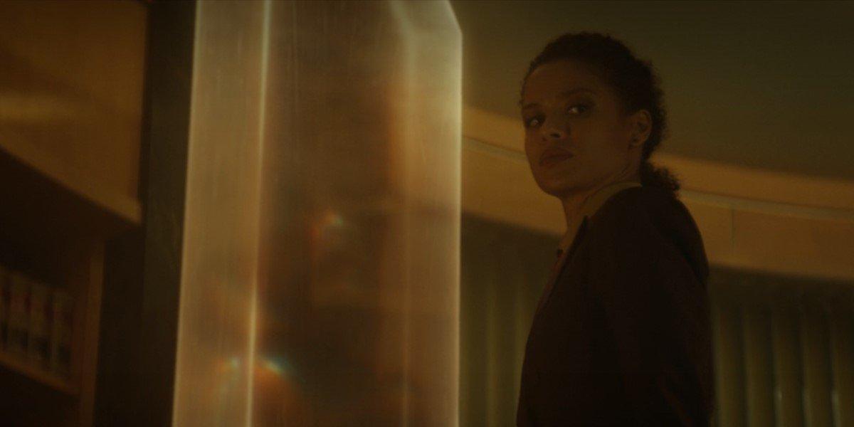 ravonna leaving through time door in Loki season finale
