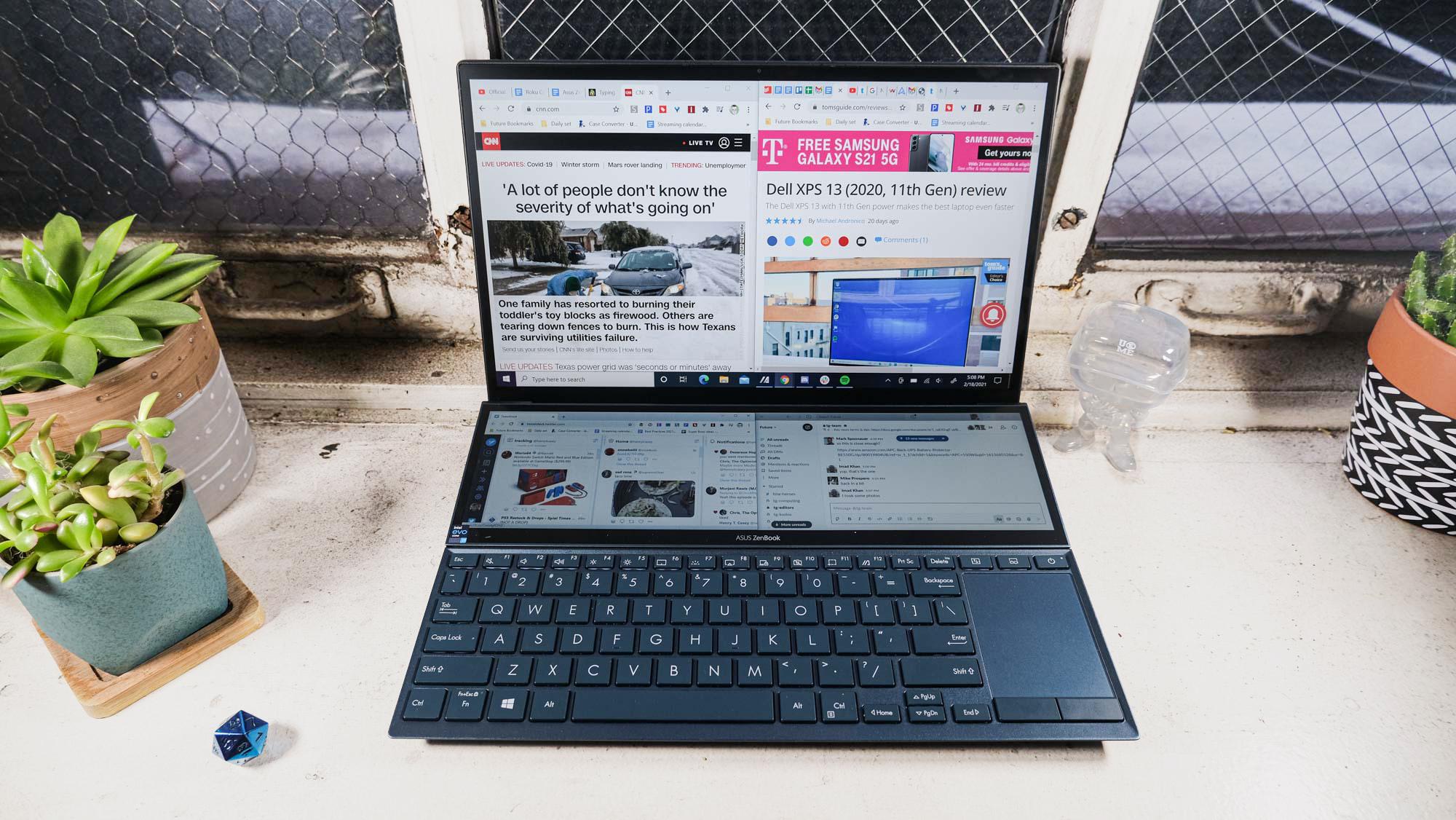 Best laptops for engineering students: Asus ZenBook Duo 14