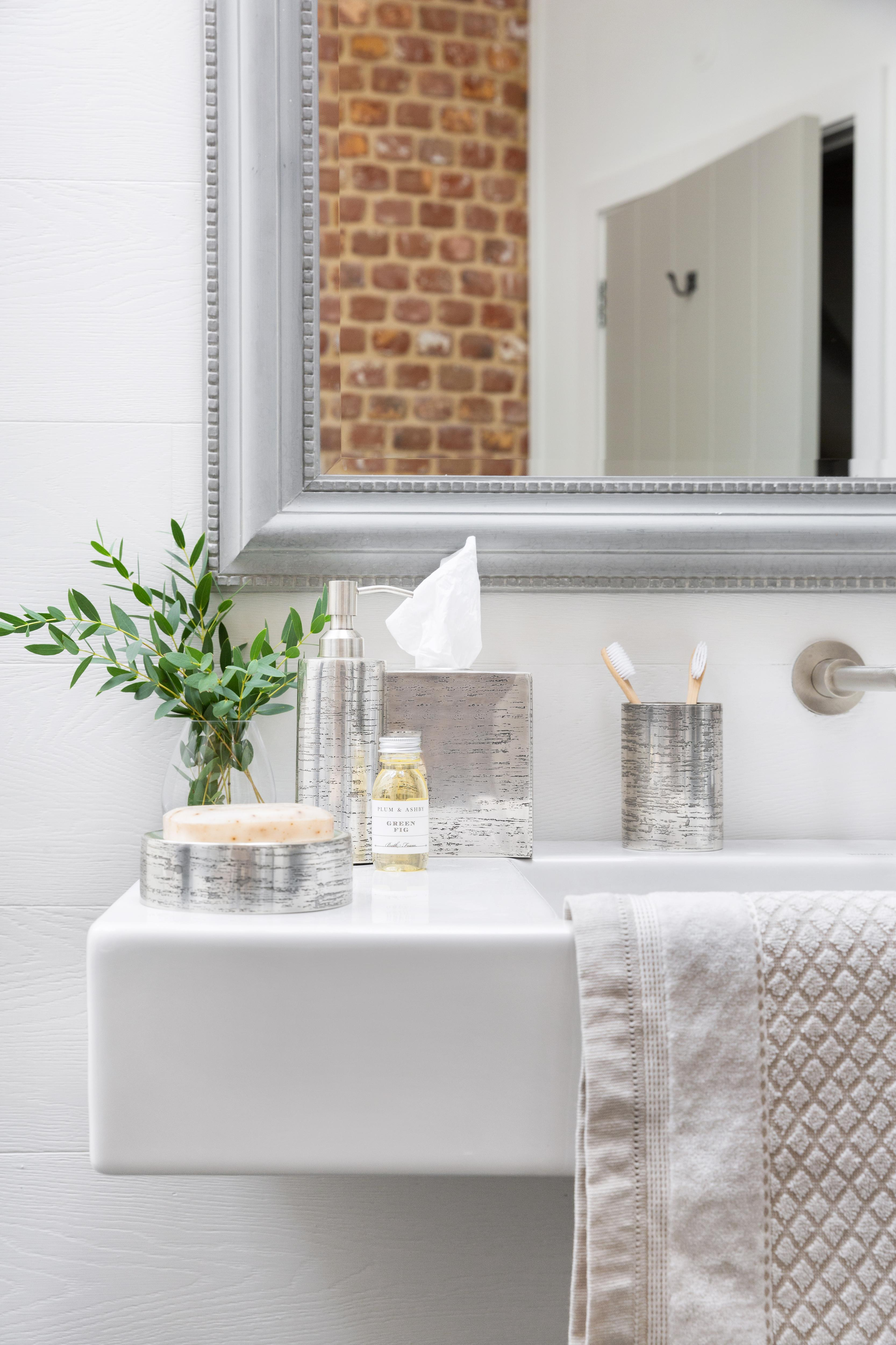 How to clean a bathroom sink and make it sparkle again  Real Homes