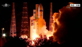 """European Cargo Craft """"Georges Lemaitre"""" Launches Toward Space Station"""