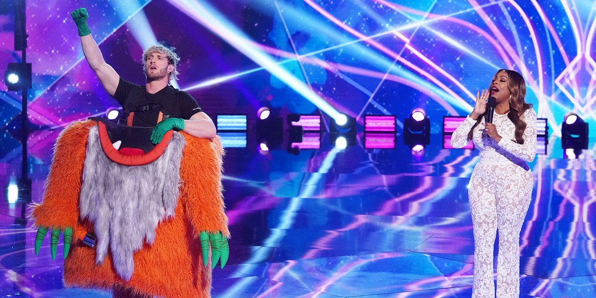 YouTube star Logan Paul unmasked on The Masked Singer
