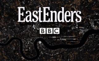 EastEnders 35th anniversary logo