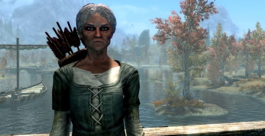 Make your day a little brighter by watching Skyrim Grandma Shirley Curry read a book