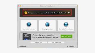 Bitdefender Virus Scanner for Mac
