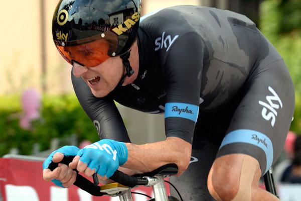 Bradley Wiggins, Giro d'Italia 2013 stage 8 TT