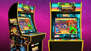 Check out this ridiculously cool Limited Edition Marvel Super Heroes arcade cabinet