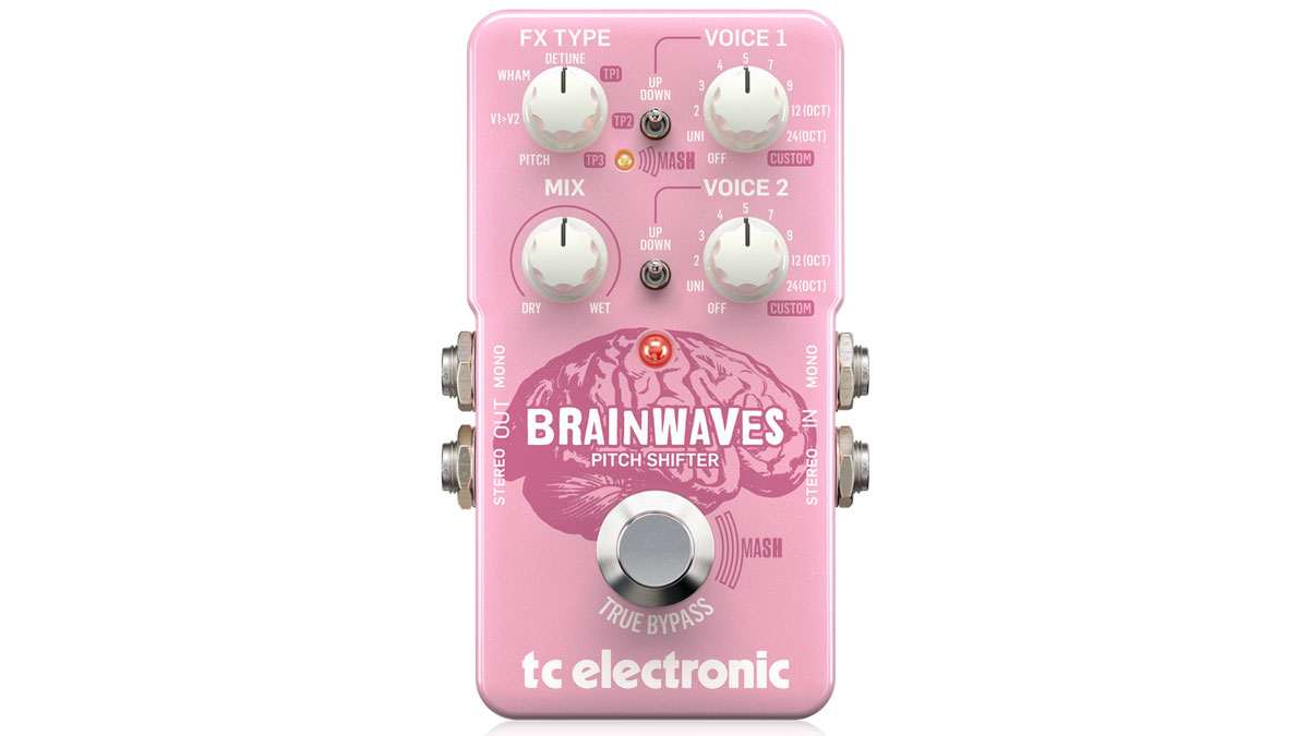 TC Electronic takes on the Whammy with Brainwaves pitch-shifter pedal | MusicRadar