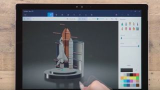 Paint 3D on a Surface