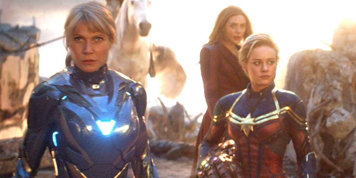 Gwyneth Paltrow as Pepper Potts Rescue in Avengers: Endgame