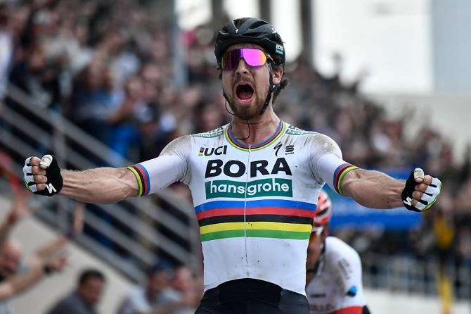 Peter Sagan (Bora-Hansgrohe) wins 2018 Paris-Roubaix