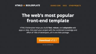 HTML boilerplate