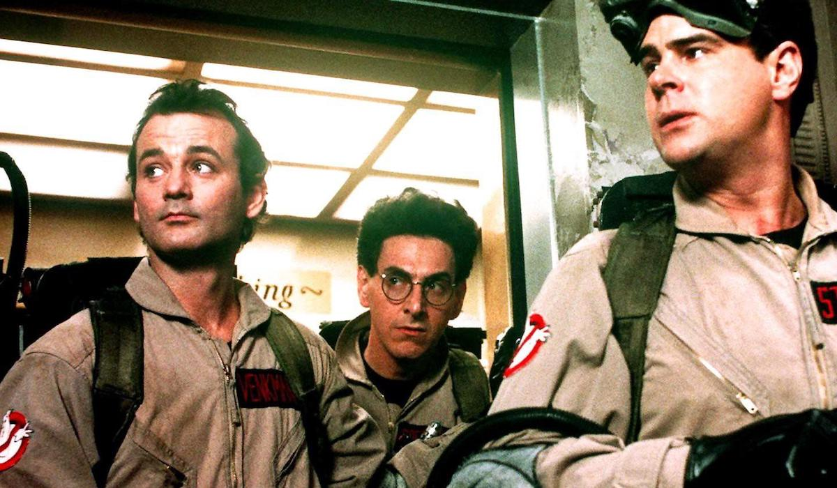 Bill Murrary, Harold Ramis and Dan Aykroyd in Ghostbusters