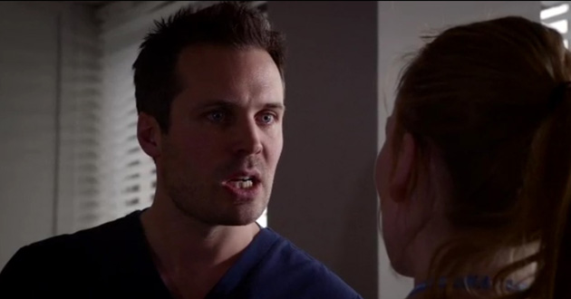 James Anderson plays Dr Oliver Valentine in Holby City