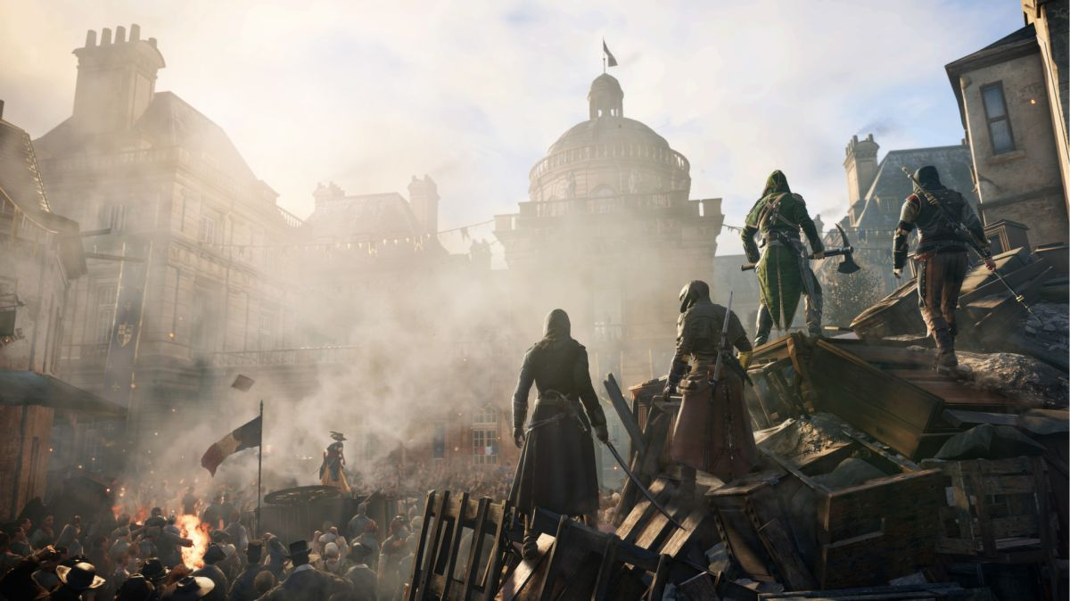 Assassin's Creed Unity flooded with positive Steam reviews in support of Notre Dame restoration