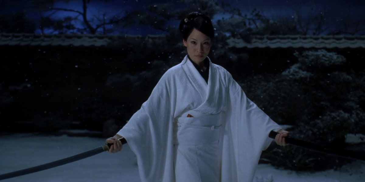 Lucy Liu in Kill Bill Vol. 1