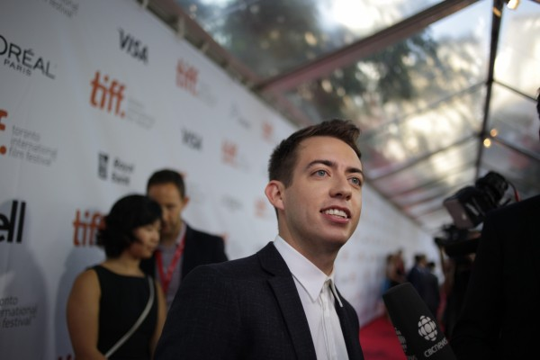 Kevin McHale at the premiere of The Choir in Toronto (Brian Bettencourt/Invision)