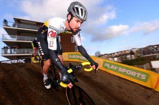 Belgian Vincent Baestaens has won four consecutive cyclo-cross races of USCX Series