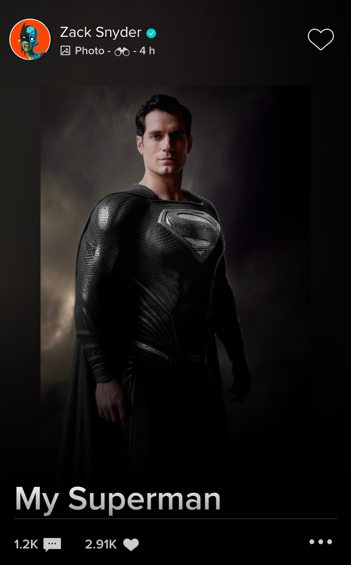Black Suit Superman