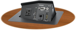 Extron Updates Hideaway Series Enclosures with Digital Connectivity and USB Power