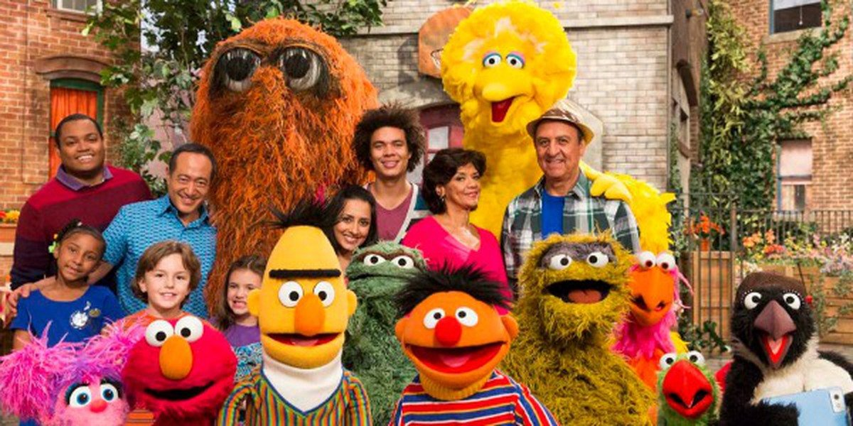 The Cast and Characters from Sesame Street