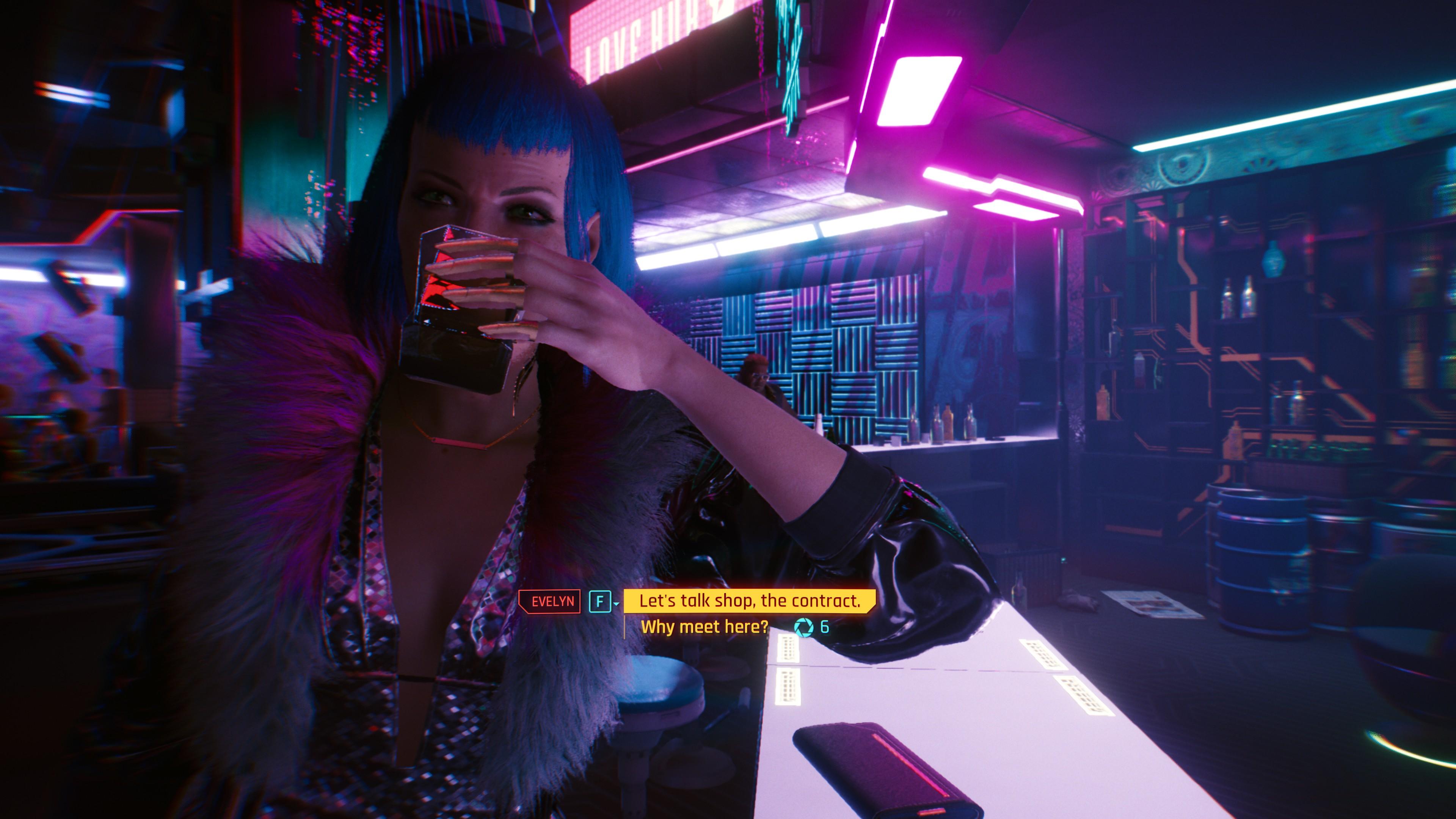 Cyberpunk 2077 screenshots.